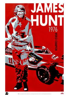 James Hunt #F1 #Formula1 #FormulaOne