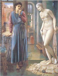 The Hand Refrains, 2nd series, Pygmalion - Burne-Jones Edward