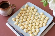 Making Cookies with Lard | Melting Moments: Perfect Eggless Cookies » DivineTaste