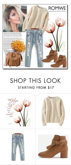"""ROMWE 2"" by woman-1979 ❤ liked on Polyvore featuring Uniqlo"