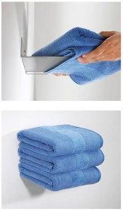 Le porte-livres qui devient porte-serviettes - Deco@gogo