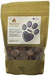 Bimini's Best Dog Blueberry/Banana Cookie Treats