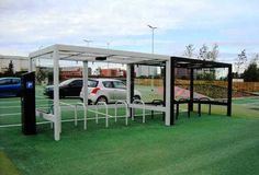 Blueton Limited - The new name in street furniture - Ref 4017.01 Cube Cycle Shelters