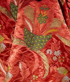 Mantua Date:     ca. 1708 Culture:     British Medium:     silk, metal