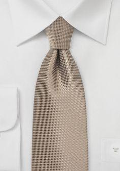 Krawatte Netz-Oberfläche beige