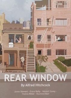 Rear Window / Das Fenster zum Hof (1954) by Alfred Hitchcock