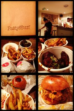 Amazing burger place in London: Patty