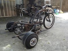 Drift trike motorizado 100cc Drift Trike Frame, Drift Trike Motorized, Custom Trikes, Trike Motorcycle, Chopper Bike, Buggy, Mini Bike, Bike Design, Go Kart