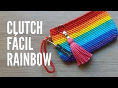 Diy Crochet Basket, Crochet Diy, Crochet Basket Pattern, Crochet Granny, Crochet Patterns, Crochet Coin Purse, Crochet Pouch, Crochet Purses, Crochet Bag Tutorials