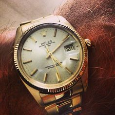 #Rolex #oyster #perpetual #date #vintage