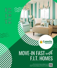 Move-in to your new home fast with Camella's F.I.T. offerings. Don't miss this chance to unlock a healthier lifestyle in one of our townships!  #CamellaMegaSouth #AlwaysAFavorite #FourDecadeFavorite T Home, Healthy Lifestyle, New Homes, Posts, Fitness, Home Decor, Messages, New Home Essentials, Interior Design