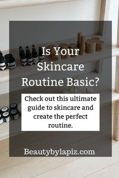 Is your skincare routine basic? Check out this ultimate guide to skincare and create the perfect skincare routine! This ultimate skincare for beginners guide will walk you through the process of creating the perfect skincare routine step-by-step. Face Skin Care, Diy Skin Care, Skin Care Tips, Anti Aging Skin Care, Natural Skin Care, Natural Oils, Natural Hair, Skin Care Routine For 20s, Skin Routine
