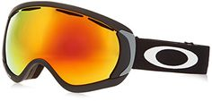 Oakley Canopy Snow Goggle, Matte Black with Fire Iridium Lens *** Want additional info? Click on the image.