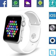 #Sale Banaus® BS19 Newest MTK2502 #Smart Watch  #Bluetooth 4.0 #Support #SIM Watch Pho...  Tagespreisabfrage /Banaus® BS19 Newest MTK2502 #Smart Watch with #Bluetooth 4.0 #Support #SIM Watch #Phone #for #Android #Samsung #Galaxy S3/S4/S5/Note2/Note3/Note4 HTC #Sony #LG Xiaomi #Huawei ZUK #and iPhone 5/5C/5S/6/6S #White  Tagespreisabfrage   Description:   Key Features:Smart Knob, #Magic #sound, Voice #Interactive, Raise #hand #to bright screen, #Flip #hand #to switch interfa