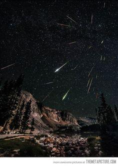 Meteor Shower In Wyoming…