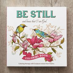 Coloring Book Be Still
