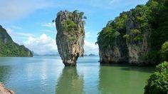 Bay of Phang Nga, Thailand, Asia