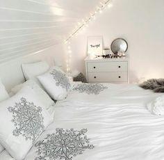 White girly bedroom