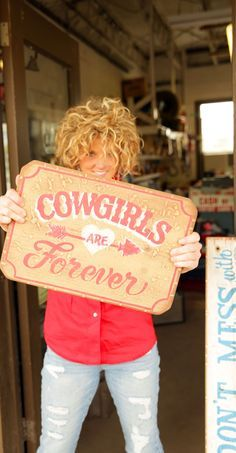 cowgirls are forever {junk gypsy co}