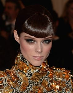 Coco Rocha - Celebrity Brown Smoky Eyes for Fall - Photos
