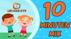 10 Minuten Mix - Kinderlieder zum Mitsingen | Liederkiste