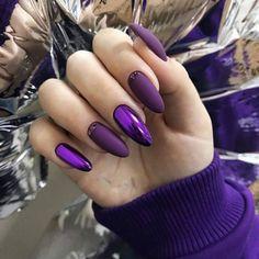 Purple Nail Art, Purple Nail Designs, Nail Art Designs, Blog Designs, Nails Design, Design Art, Design Ideas, Winter Nails, Spring Nails