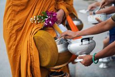 Make Merit on Visaka Bucha Day