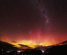 The Southern Lights, Dunedin, New Zealand Beautiful Scenery, Beautiful Images, New Zealand South Island, Brother Bear, St Kilda, Aurora Borealis, Golden Hour, Oh The Places You'll Go, Ballerinas