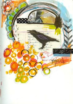 """""""Every Life Has a Story!"""" - {Roben-Marie Smith} - Art Journal Love - MARVEL..."""