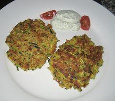 Zucchinipuffer 9