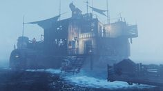 Imgur: The most awesome images on the Internet Apocalypse Games, Post Apocalypse, Fallout 4 Guide, Fallout 4 Settlement Ideas, World On Fire, Zombie Art, Game Environment, Fall Out 4, Best Games