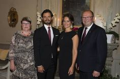 Prince Carl Philip and Princess Sofia visit Varmland - Dinner - Day 1, Aug 26, 2015.