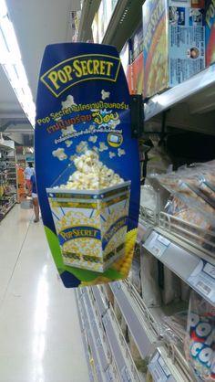 Amazing Pop Secret Shelf Talker | Shelf Banner | Talker | Wobbler | point of purchase at thesellingpoints.com