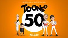 Séries Que Estou Assistindo – Mclaren: Tooned 50 #AlainProst #AyrtonSenna #BruceMclaren #EmersonFittipaldi #JamesHunt #Mclaren  #F1 #Formule1 #PipocaComBacon #Formula1