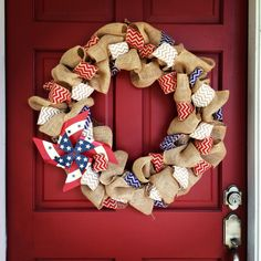 4th of July Wreath I want to make this