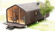 Wikkelhouse, een duurzaam huis van golfkarton dat met je woonwensen meegroeit!