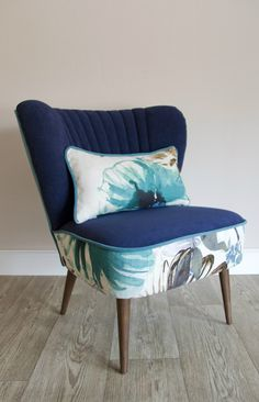 Upcycled cocktail chair