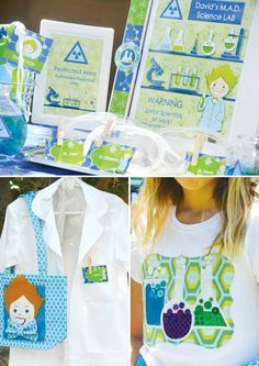 Creative Kids Mad Scientist Party Ideas // Hostess with the Mostess®