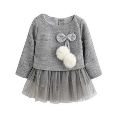 Baby Dress Spring Autumn Baby Warm Clothes New Winter Long-Sleeve Princess Dress Kids Clothes Baby Girl Princess Dress Princess Dress Kids, Baby Girl Princess, Princess Dresses, Crochet Princess, Princess Party, Little Girl Dresses, Girls Dresses, Nice Dresses, Baby Girl Winter