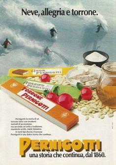 Torrone PERNIGOTTI - Pubblicità 1984 - Adv.