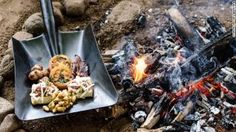 Africa means shovel-loads of great grub -- quite literally.