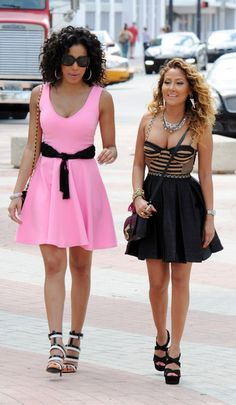 EMPIRE GIRLS JULISSA & ADRIENNE BAILON – FASHION FROM CASUAL TO HAPPY HOUR!