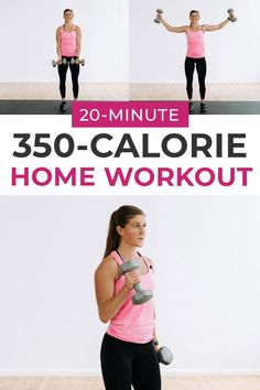 Full Body Strength Workout (No Jump, No Repeats) | Nourish Move Love