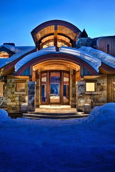 Majestic family mountain retreat surrounded by Aspen trees in Colorado