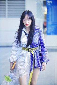 | Save = Follow Me | #Princess #NOT_SAVE_FREE Xuan Yi, Girl Korea, Cheng Xiao, Kawaii, Cutest Thing Ever, Cosmic Girls, Seong, Airport Style, Touken Ranbu
