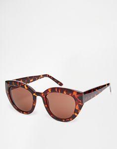 abe0f14a66e AJ Morgan Maybe Oversized Cat Eye Sunglasses at asos.com