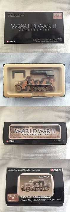 Tanks and Military Vehicles 171138: Corgi Krauss-Maffei Semi Truck German Army Truck - Hermann Goering Panzer Corps -> BUY IT NOW ONLY: $34.95 on eBay!