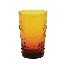 #luckofthepin Fall means pumpkin ales and Oktoberfest lagers are plentiful. Poor a cold one into this handmade, glass tumbler and enjoy an afternoon in the sun.  Find the Handmade Tumbler in Amber - set of 4, as seen in the Gibraltar Influences Collection at http://dotandbo.com/collections/gibraltar?utm_source=pinterest
