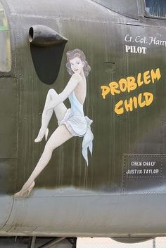 A look at the nose art of World War II.