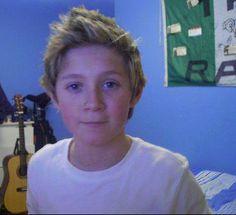 Niall Horan de pequeño